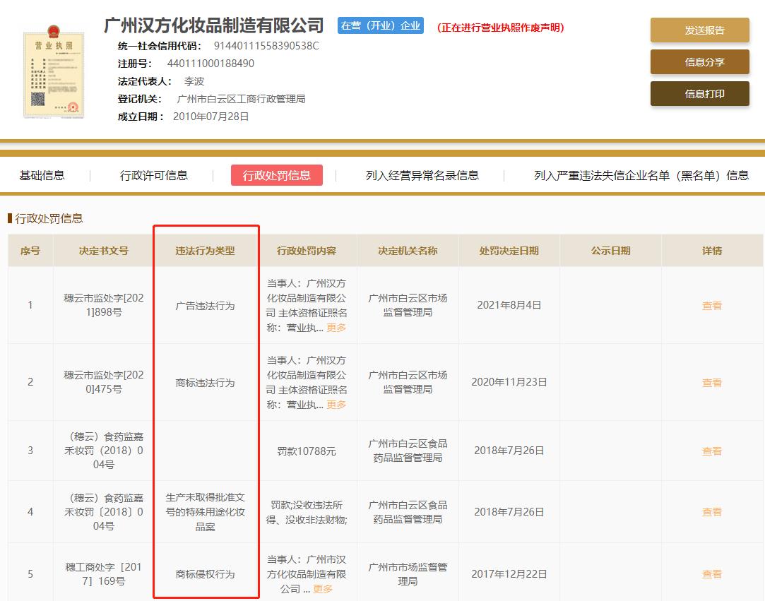 广州汉方集团子公司康视雅涉嫌传销被冻结资产1500万